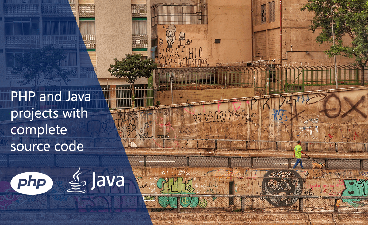 PHP and Java projects with complete source code - Milan