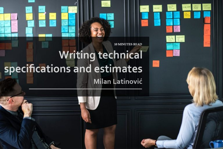 writingtechnicalspecificationsandestimates