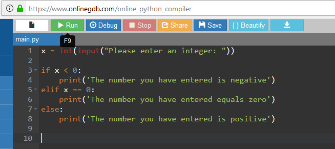 python compiler example