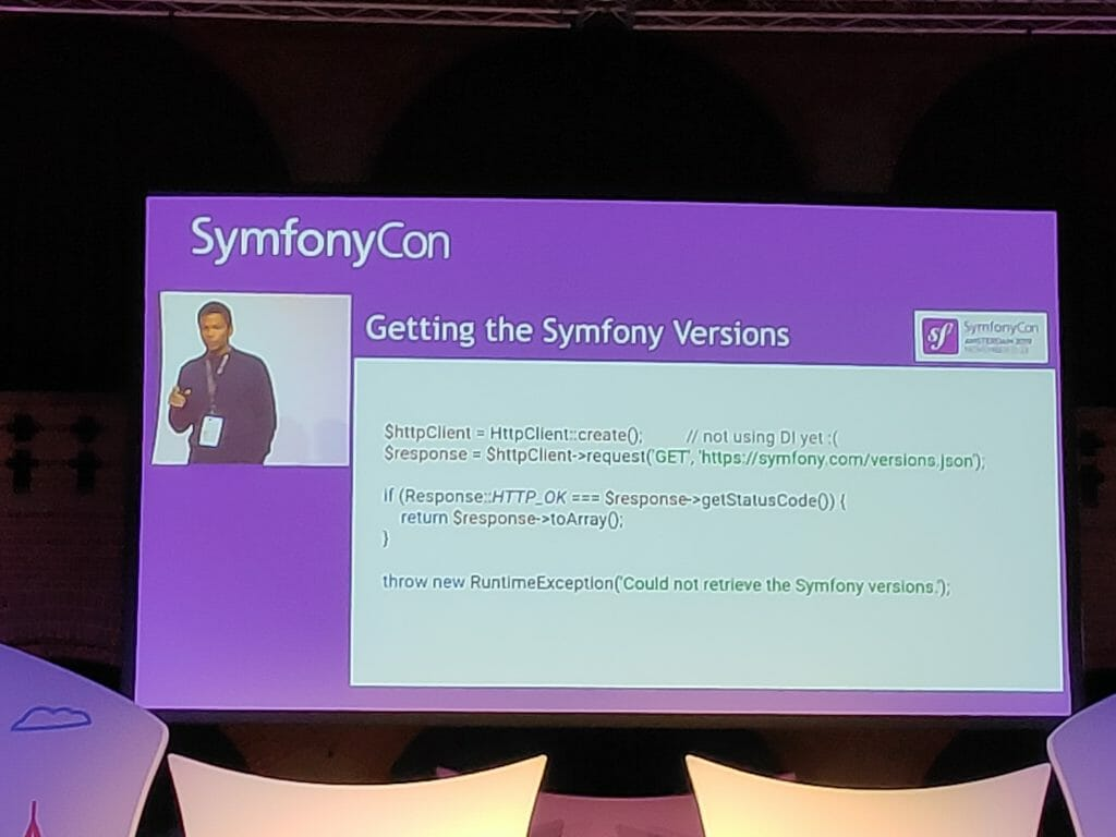 SymfonyCon 2019 - symfony versions