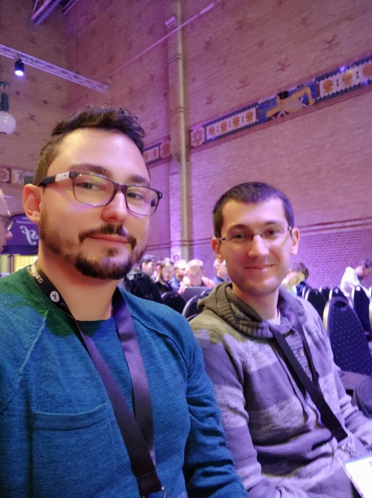 SymfonyCon 2019  - Boris and I