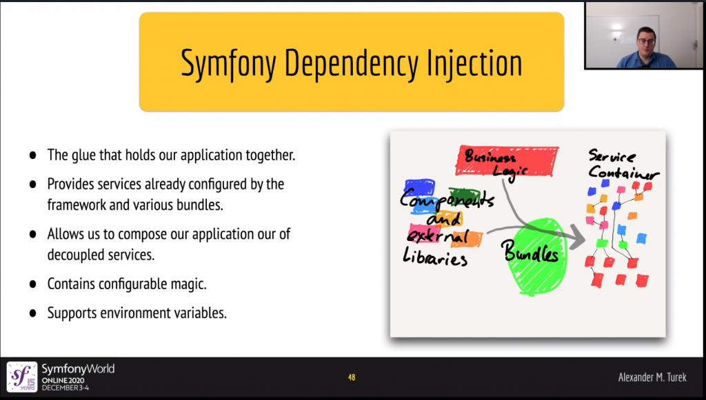 Symfony Dependency Injection - SymfonyWorld Online